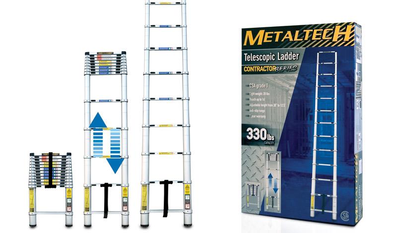 The telescopic ladder